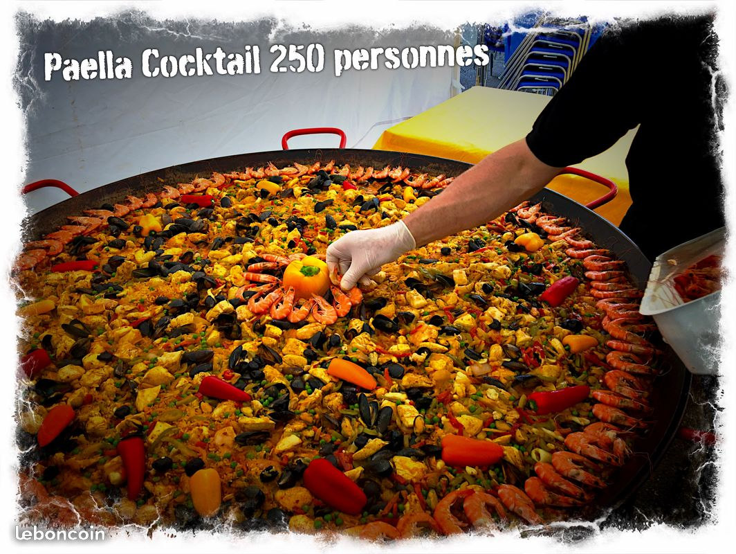 Paella Géante Cocktail