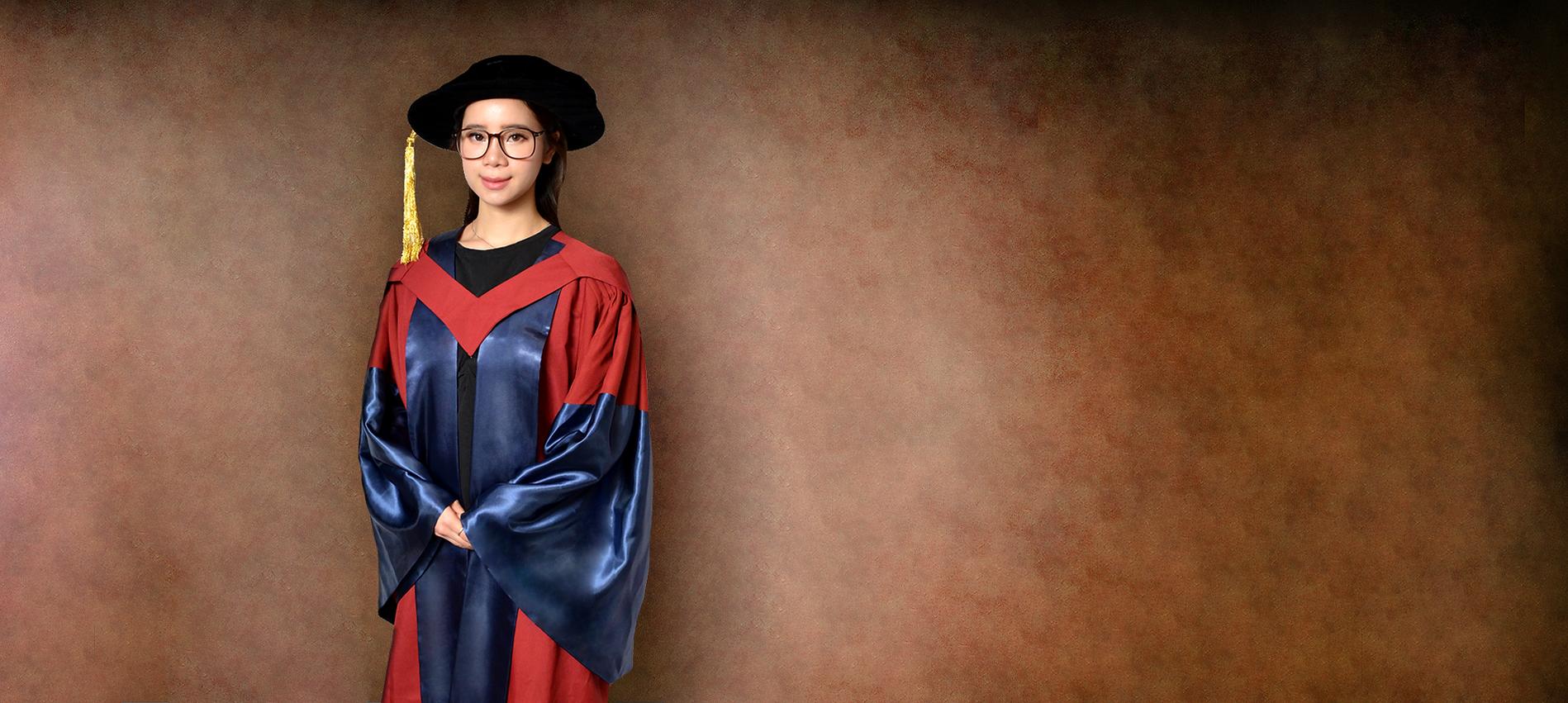 The Education University of Hong Kong ( EdUHK ) Graduation Gown | Academic Dress and Regalia 租借、購買香港教育大學 (教大 ) 畢業袍 | 學士、碩士、博士袍 | Rent or Buy