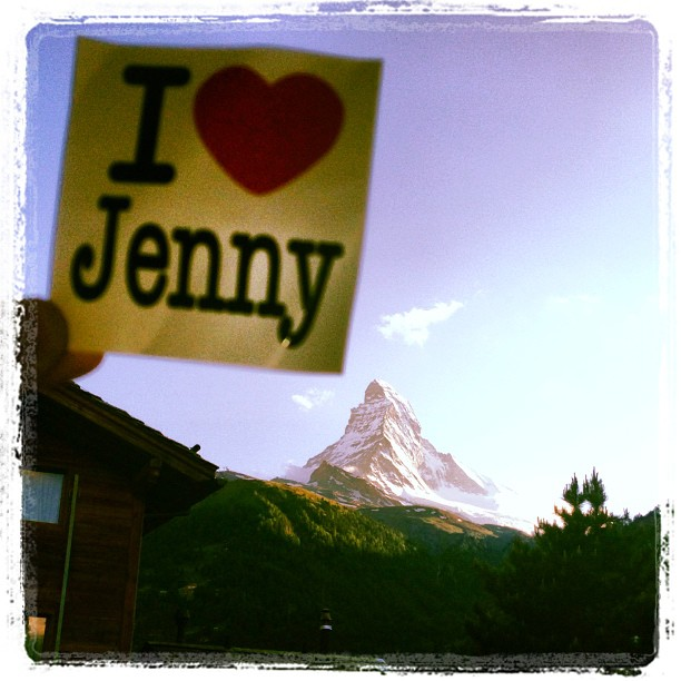 Jenny Sticker Matterhorn
