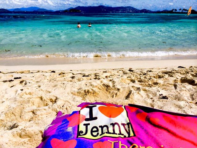 Jenny Beach Towel