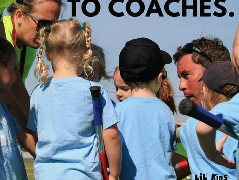 Kids Listen To Coaches