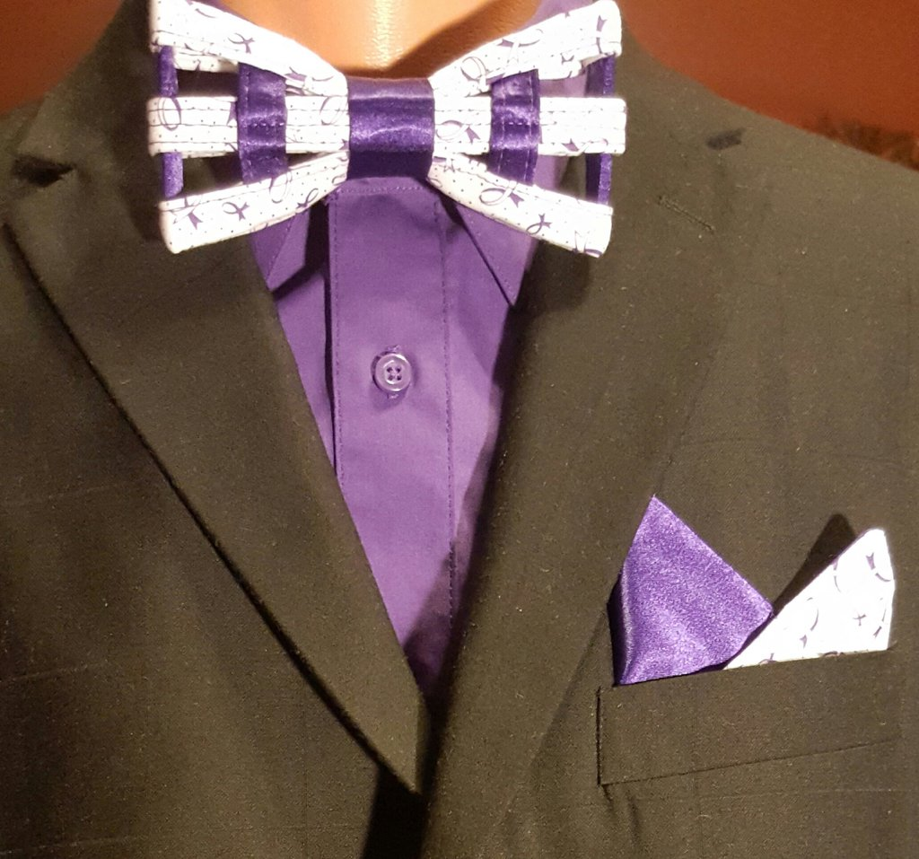 Living Life with Lupus Bow Tie set