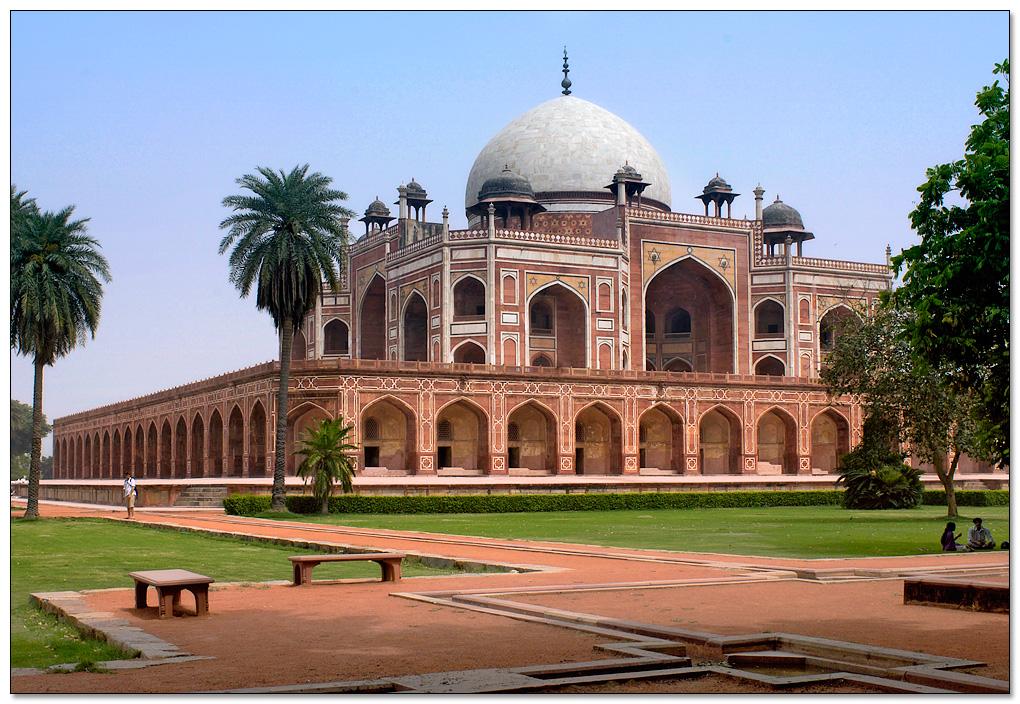Le tombeau de Humayun -Delhi