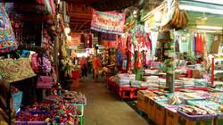 Marché à Bangkok