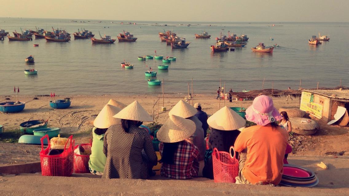 Village de pêcheur - Mui né