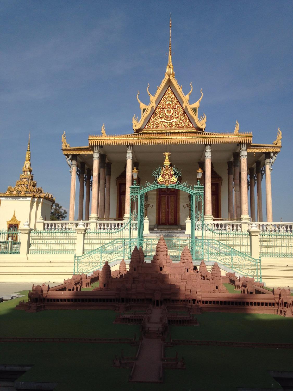 Wat Ounalom - Phnom Penh