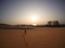 Dunes de sables rouge - Mui né
