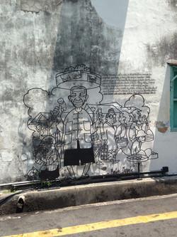 Street Art George Town - Penang