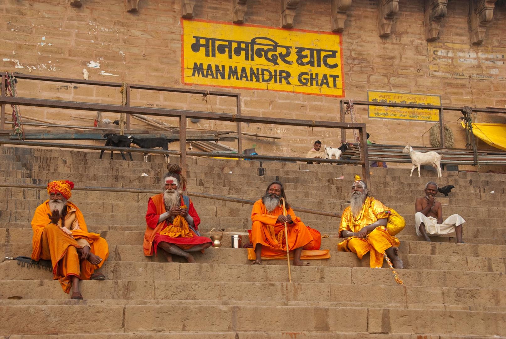 Ghat Manmandir - Varanasi