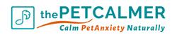 thePetCalmer Logo White BG 630_135 Vj2 Bold