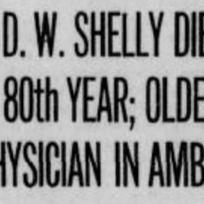 Dr. Daniel Webster Shelly