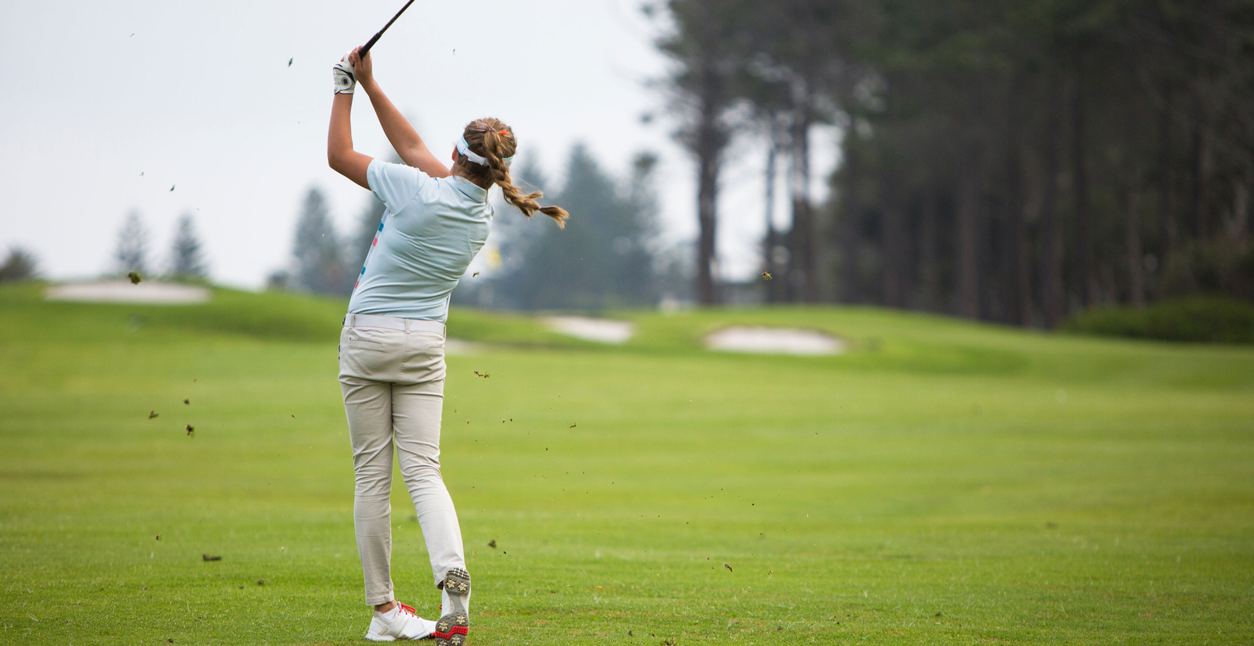 Spine mobility in golf swing