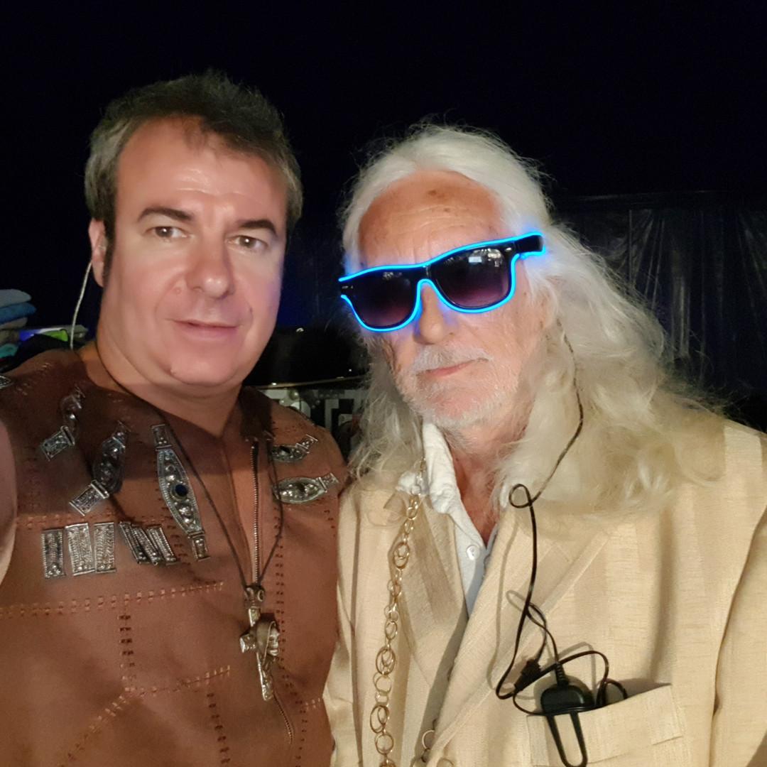 Avec Jean-Jacques Chardeau