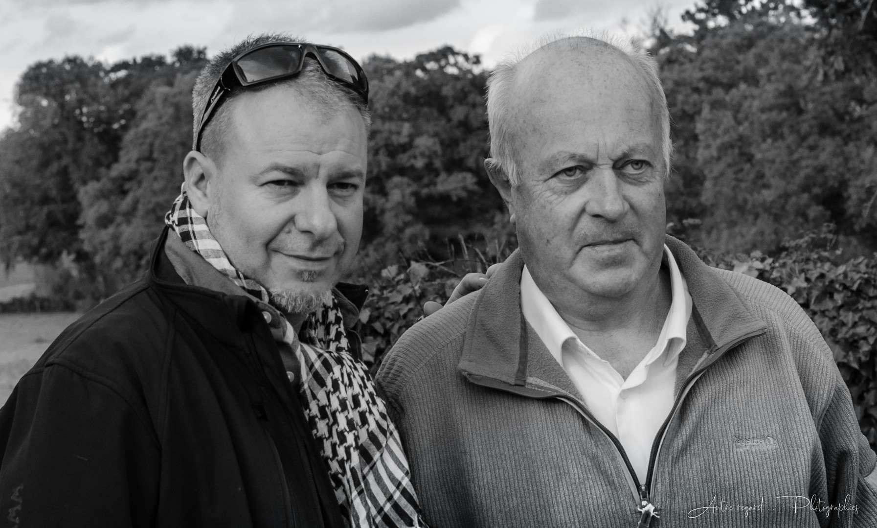 Avec Daniel Cuell (Maire de Langouët) © Autre regard... Photographies