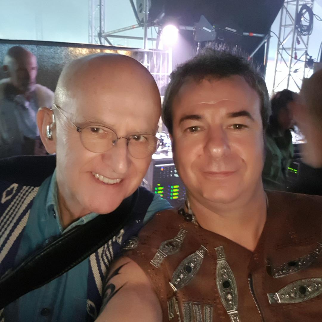 Avec Dan Ar Braz