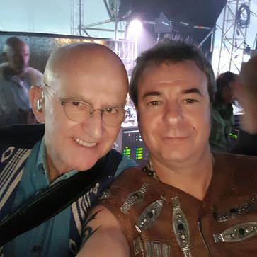 With Dan Ar Braz