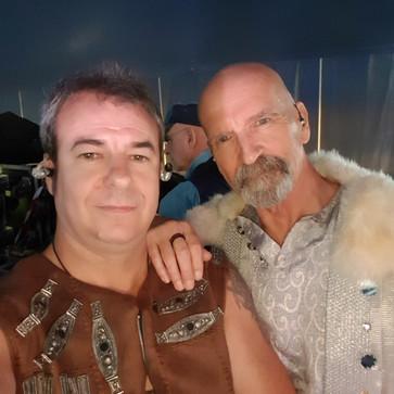 With Michael Sadler (SAGA)