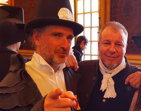 With Alan Simon