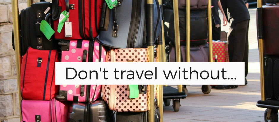 Top 10 things to do when going away
