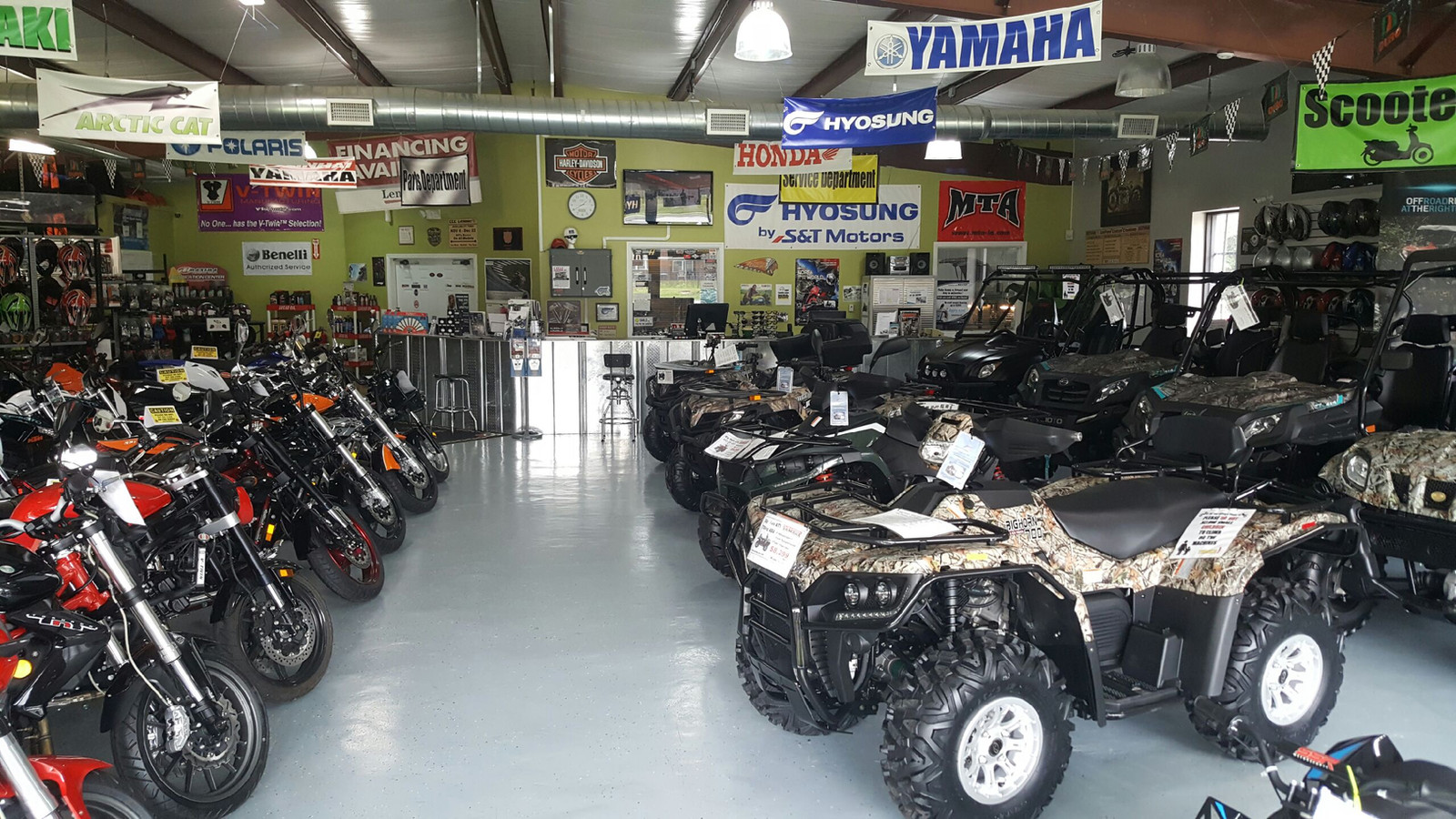 Motorcycle Shop | United States | CCC Powersports