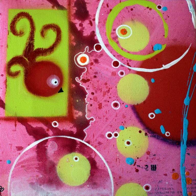 20x20cm Acrylique