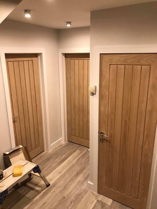 NEW FITTED INTERNAL DOORS