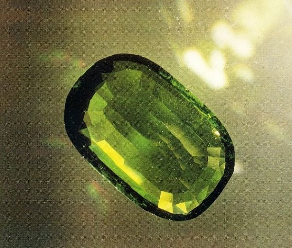 Chrystoline that once belonged to the Russian royal family 192 carat peridot