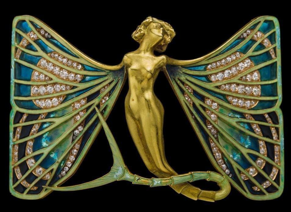 Art Nouveau jewellery by french designer René Lalique