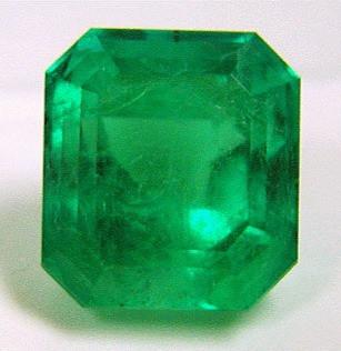 large square emerald cut loose emerald