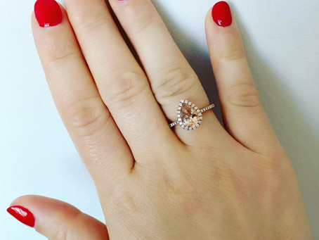 How much is a Morganite Ring?