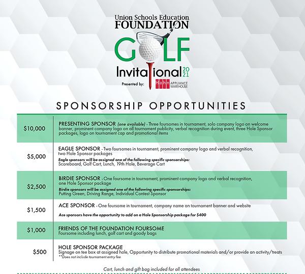 USEF Golf Flyer_Sponsorships_hahn_detail