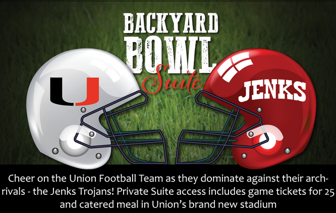 Private Suite for Backyard Bowl