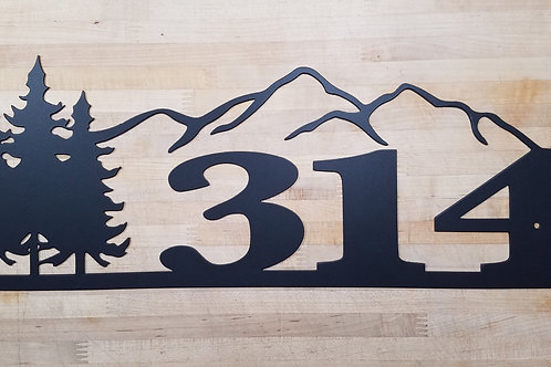 Mountain Address / House Number