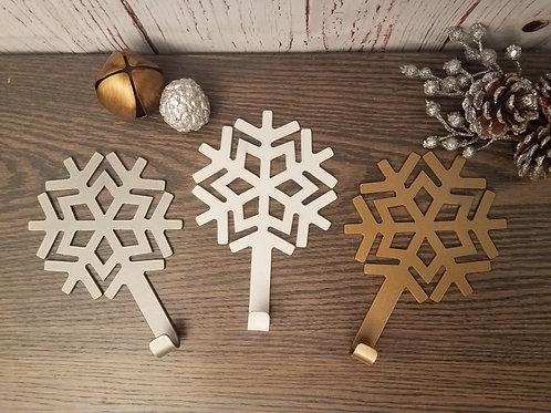 Snowflake Stocking Hangers