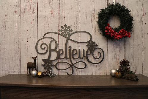 Believe with Snowflakes