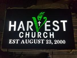 Harvest Church Lighted Sign.jpg