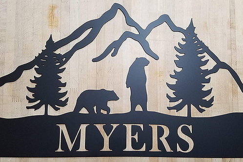 Bear Mountain Monogram