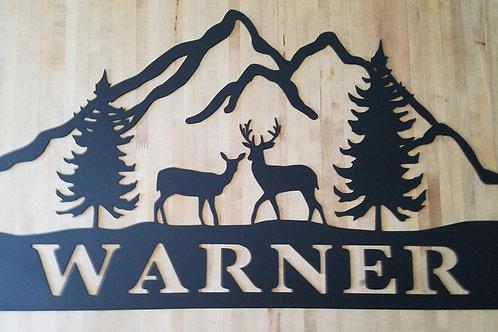 Deer Mountain Monogram