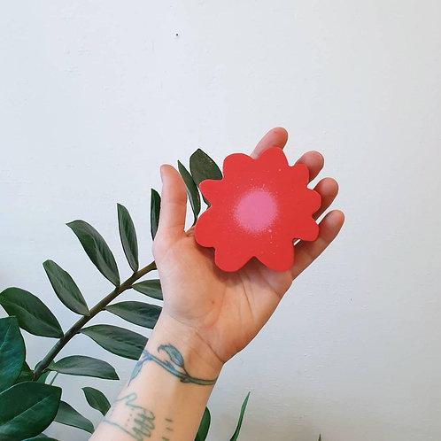 Tiny red flower