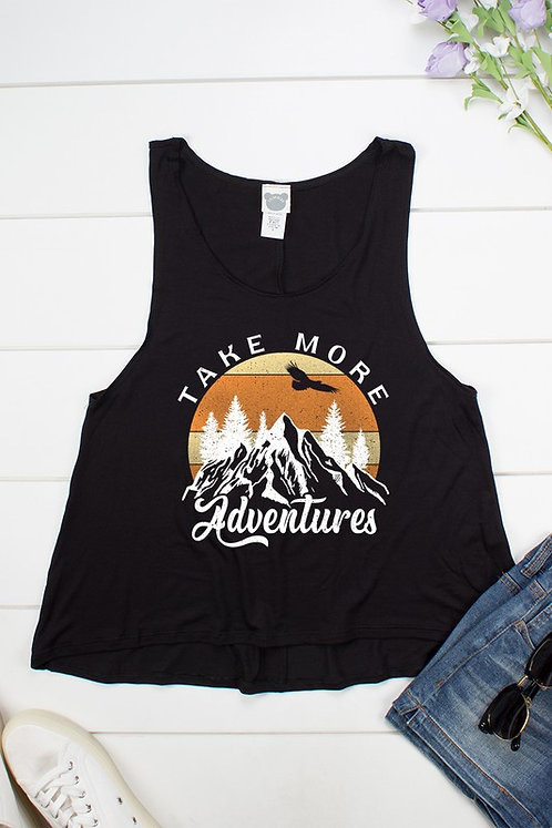 """Take More Adventures"" Mountain Tank Top"