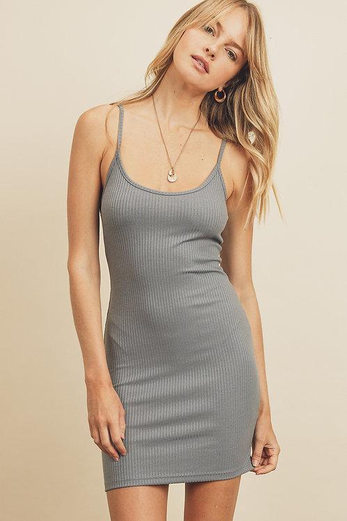 Ribbed Bodycon Mini Dress