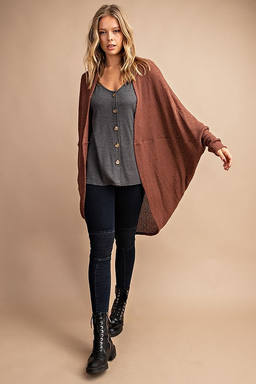 Slouchy Cocoon Cardigan