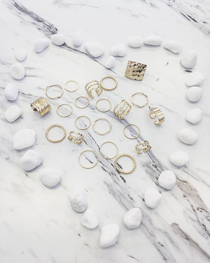 We just got so many new rings all shapes