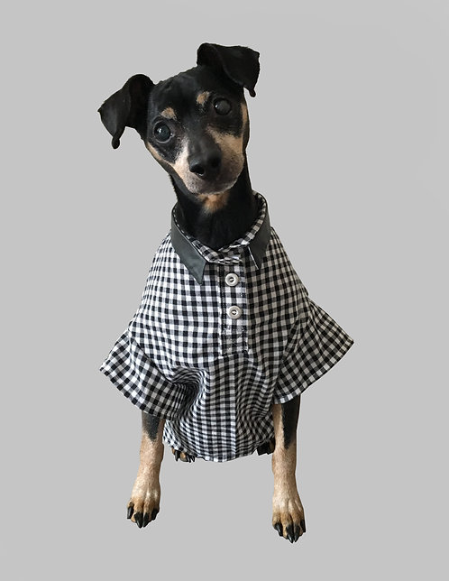 Checkered Collared Shirt