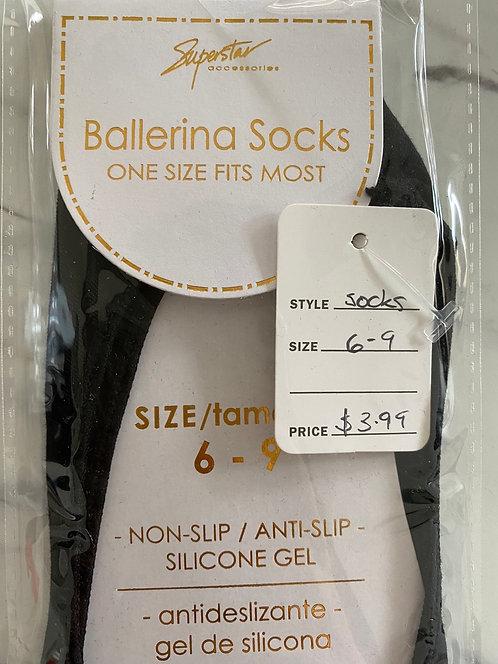 No-Show Ballerina Socks