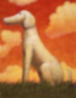 「白い犬とワルツを」ポスター(新潮社)