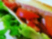 Sandwich avec ingrédients frais et maison à Anglet