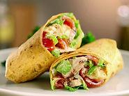 Wrap avec ingrédients frais et maison à Anglet