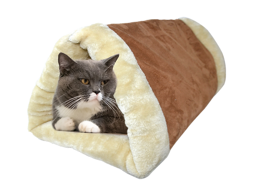 Self Heating Cat Tunnel