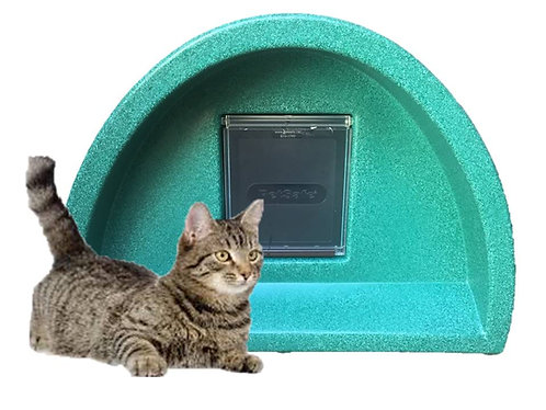 Cat Kennel with square flap